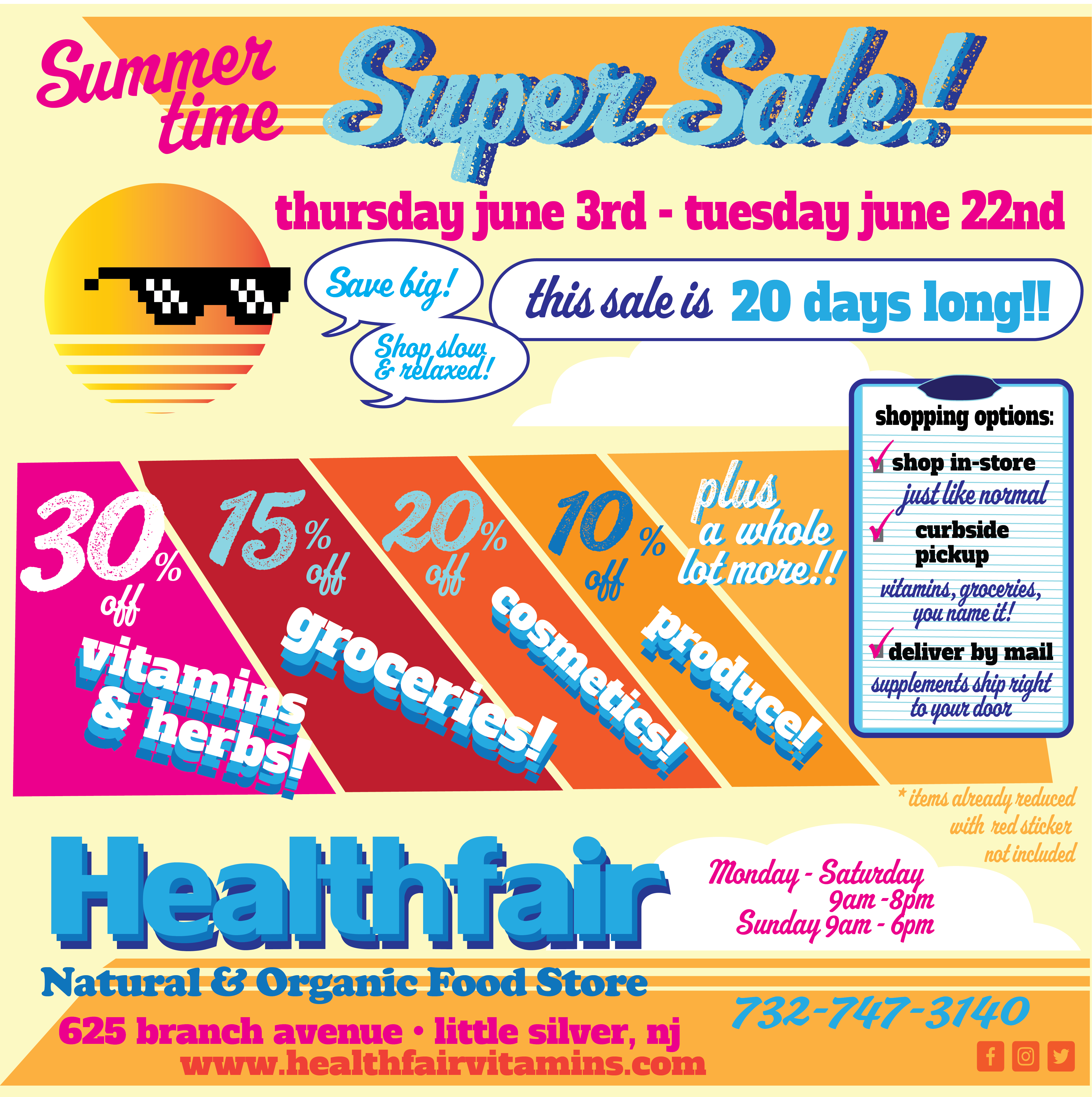 2021 summer sale HF - Sales and Specials